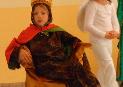 Répétition en costumes du spectacle de théâtre.