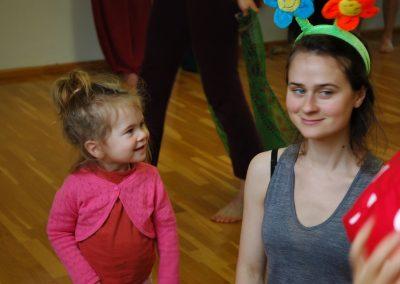 La fille et sa mère.